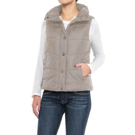 dylan Bowery Vest - Sherpa Lined (For Women) in Shimmer - Closeouts
