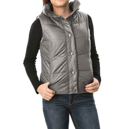 dylan Bowery Vest - Sherpa Lined (For Women) in Storm - Closeouts