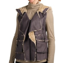 Dylan by True Grit Dixon Cargo Vest - Zip Front (For Women) in Grey - Closeouts