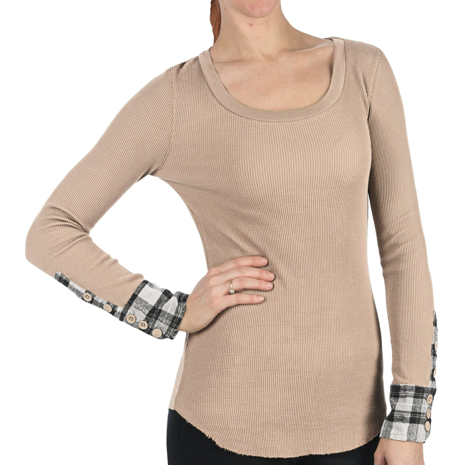 Dylan Harley Shirt Thermal Long Sleeve For Women