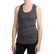 Dylan by True Grit Heathered Tank Top - Racerback (For Women) in Black - Closeouts