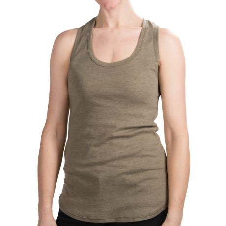 Dylan by True Grit Heathered Tank Top - Racerback (For Women) in Driftwood