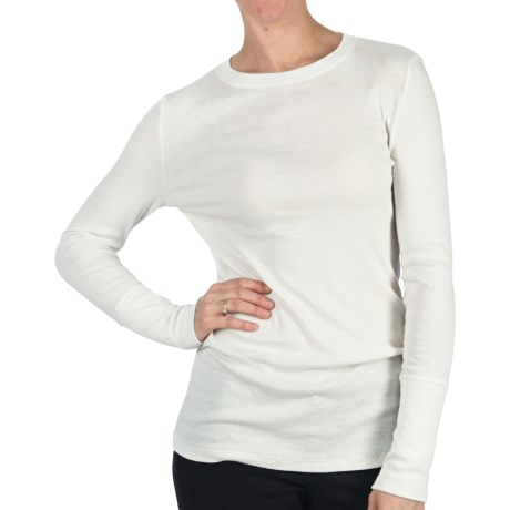 Dylan by True Grit Long & Lean Sweater (For Women) in White