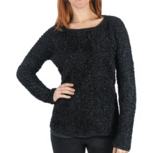 Dylan by True Grit Mohair Sparkle Sweater (For Women) in Black - Closeouts