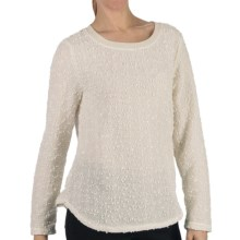 Dylan by True Grit Nubby Boucle Sweater (For Women) in Ivory - Closeouts