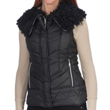 Dylan by True Grit Puffer Vest (For Women) in Black/Black - Closeouts