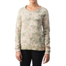 dylan Camo Sweatshirt (For Women) in Watercolor - Closeouts