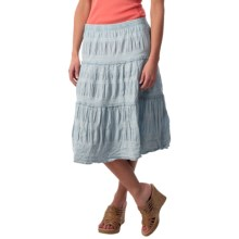 dylan Cassidy Denim Field Skirt (For Women) in Faded Denim - Closeouts