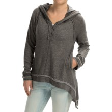 dylan Cool Girl Hoodie (For Women) in Charcoal - Closeouts