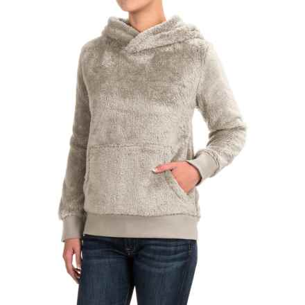 dylan Double-Plush His Hoodie - Faux Fur (For Women) in Oatmeal - Closeouts