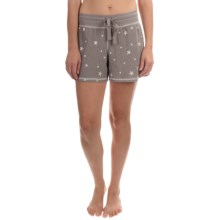 dylan Drawstring Lounge Shorts (For Women) in Vintage/Silver Grey - Closeouts