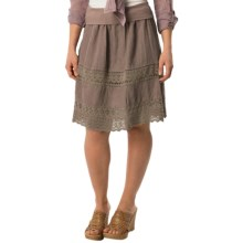 dylan Flirty Crochet Skirt (For Women) in Malt - Closeouts