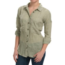 dylan Flyaway Split-Back Shirt - Long Sleeve (For Women) in Dirty Olive - Closeouts
