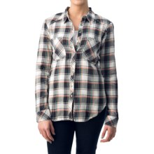 dylan Harley Flannel Shirt - Long Sleeve (For Women) in Natural/Vtg Blk - Closeouts