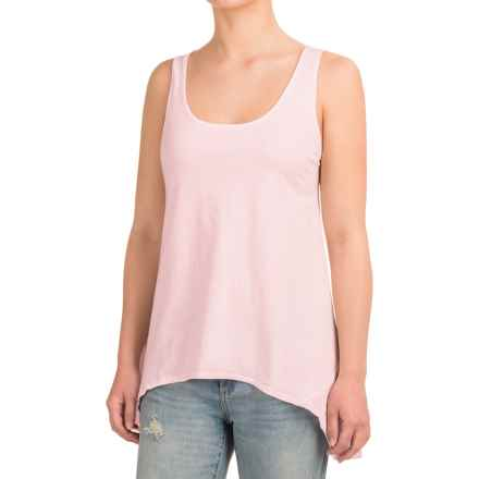 dylan Hatch Embellished Plains Tank Top (For Women) in Pink Embroidered - Closeouts