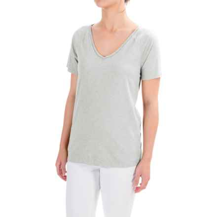 dylan Haze Heathered Vintage T-shirt - Organic Cotton, Short Sleeve (For Women) in Heather - Closeouts