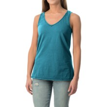 dylan Haze Heathered Vintage Tank Top (For Women) in Aquamarine - Closeouts