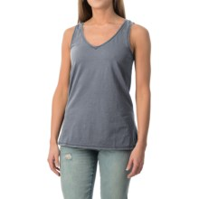 dylan Haze Heathered Vintage Tank Top (For Women) in Denim - Closeouts