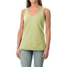dylan Haze Heathered Vintage Tank Top (For Women) in Faded Citron - Closeouts