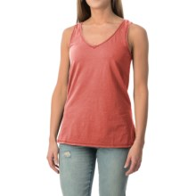 dylan Haze Heathered Vintage Tank Top (For Women) in Red - Closeouts