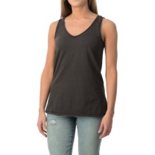dylan Haze Heathered Vintage Tank Top (For Women) in Vintage Black - Closeouts