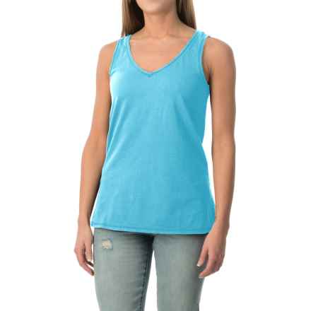 dylan Haze Heathered Vintage Tank Top (For Women) in Vintage Marine - Closeouts