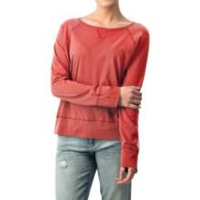 dylan Haze Raglan Shirt - Organic Cotton, Long Sleeve (For Women) in Red - Closeouts