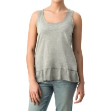 dylan Haze Rough-Edged Tank Top - Organic Cotton (For Women) in Heather - Closeouts