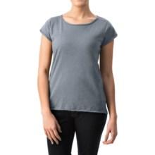 dylan Haze T-Shirt - Short Sleeve (For Women) in Denim - Closeouts