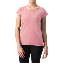 dylan Haze T-Shirt - Short Sleeve (For Women) in Faded Pure Pink - Closeouts