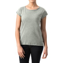dylan Haze T-Shirt - Short Sleeve (For Women) in Pale Blue - Closeouts