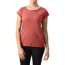 dylan Haze T-Shirt - Short Sleeve (For Women) in Red - Closeouts