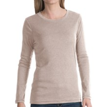 dylan Heather T-Shirt - Long Sleeve (For Women) in Oatmeal - Closeouts