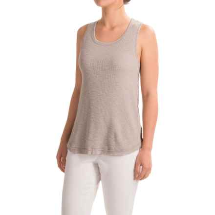 dylan High-Low Waffle Tank Top (For Women) in Heather - Closeouts