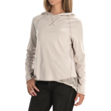 dylan Homestead Hoodie Shirt - Long Sleeve (For Women) in Smoke - Closeouts