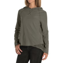 dylan Homestead Hoodie Shirt - Long Sleeve (For Women) in Vintage Grey - Closeouts