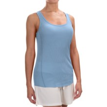 dylan Knit Paneled Tank Top (For Women) in Chambray - Closeouts