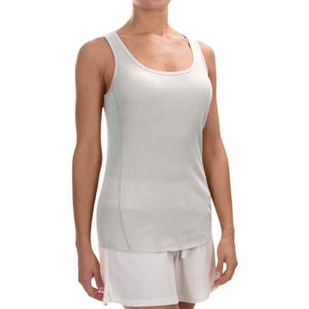 dylan Knit Paneled Tank Top (For Women) in Faded White - Closeouts