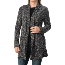 dylan Long Lodge Cardigan Sweater (For Women) in Black - Closeouts