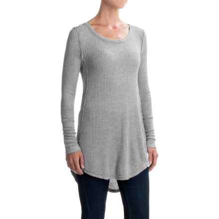 dylan Luxe Knit Raglan Shirt - Long Sleeve (For Women) in Heather - Closeouts