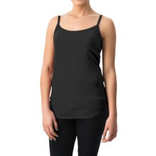 dylan Luxe Suede-Knit Camisole (For Women) in Black - Closeouts