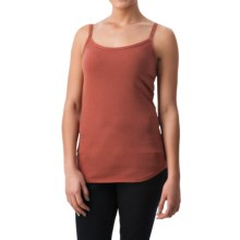 dylan Luxe Suede-Knit Camisole (For Women) in Brick - Closeouts