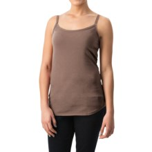 dylan Luxe Suede-Knit Camisole (For Women) in Cocoa - Closeouts