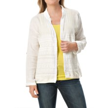 dylan Malibu Ranch Cabin Jacket (For Women) in White - Closeouts