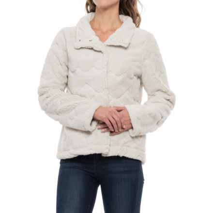 dylan Native American Canyon Jacket (For Women) in Winter White - Closeouts