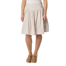 dylan Navajo Stitchdown Twill Skirt (For Women) in Ice Grey - Closeouts