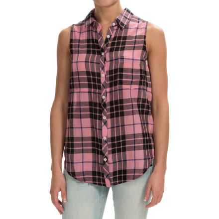 dylan Outpost Slit-Back Shirt - Sleeveless (For Women) in Pink - Closeouts
