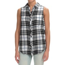 dylan Outpost Slit-Back Shirt - Sleeveless (For Women) in White - Closeouts
