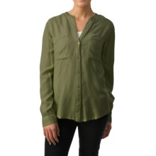 dylan Prairie Blouse - Long Sleeve (For Women) in Vintage Black - Closeouts
