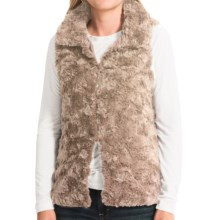 dylan Silky Faux-Fur Vest (For Women) in Shearling - Closeouts